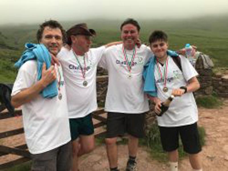 WELSH THREE PEAKS TEAM CHALLENGE – Saturday 5th June 2021
